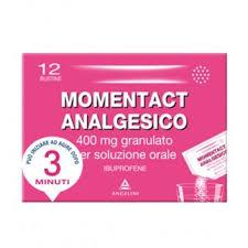 Momentact Analgesico Granulato 400 Mg 12 Bustine Ibuprofene