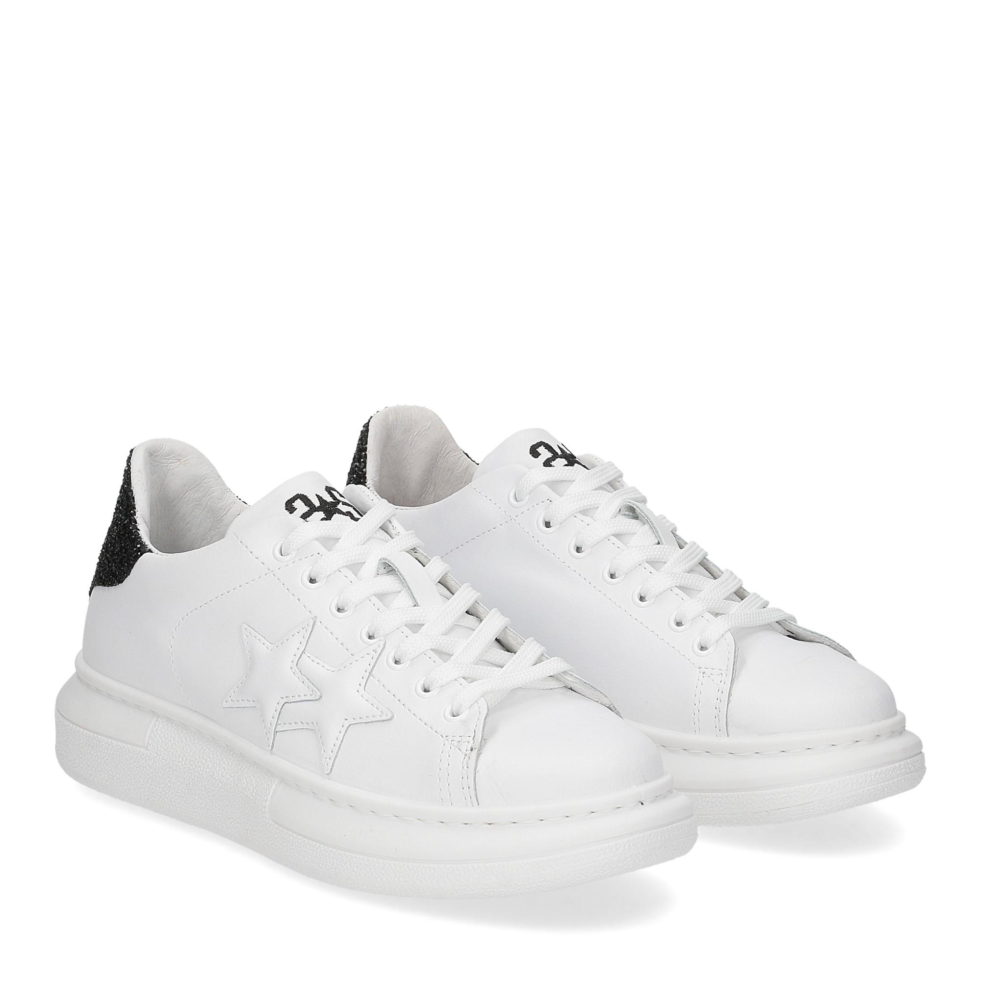 2Star 2885 sneaker bianco nero