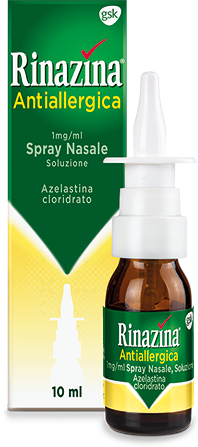 Rinazina Antiallergica 1 mg/ml Spray Nasale - 10 ml