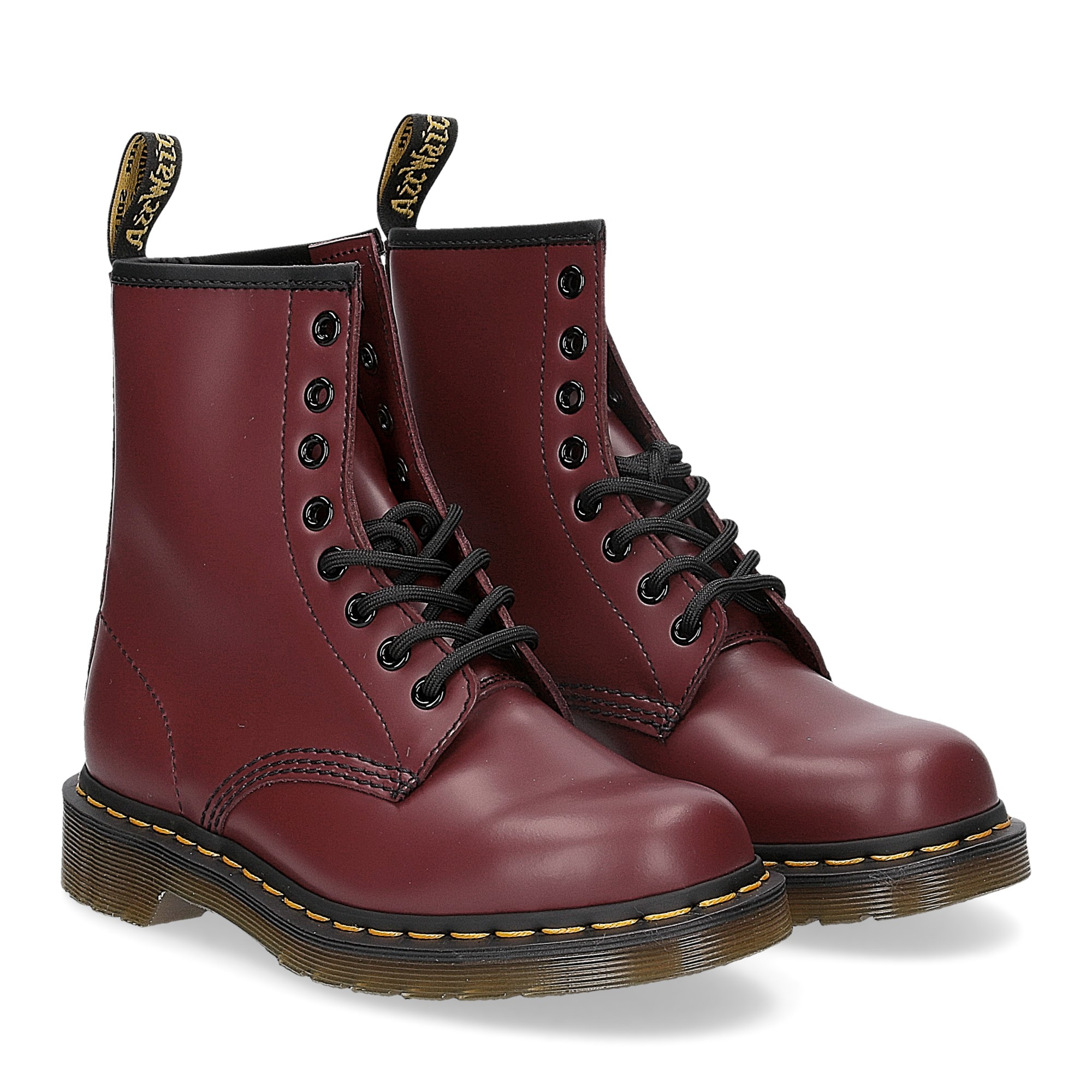 Dr. Martens Anfibio Donna 1460 cherry red smooth