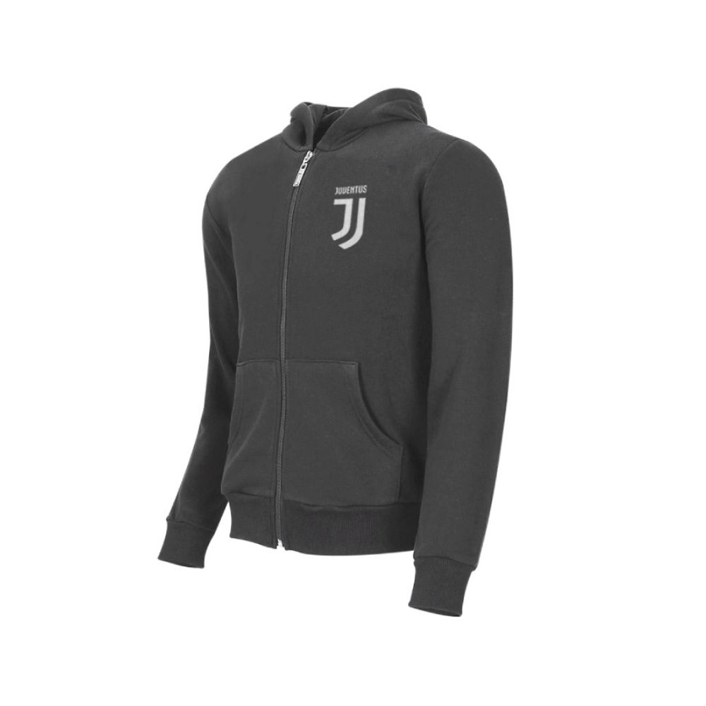 Felpa 14 anni Juventus con cappuccio grigia