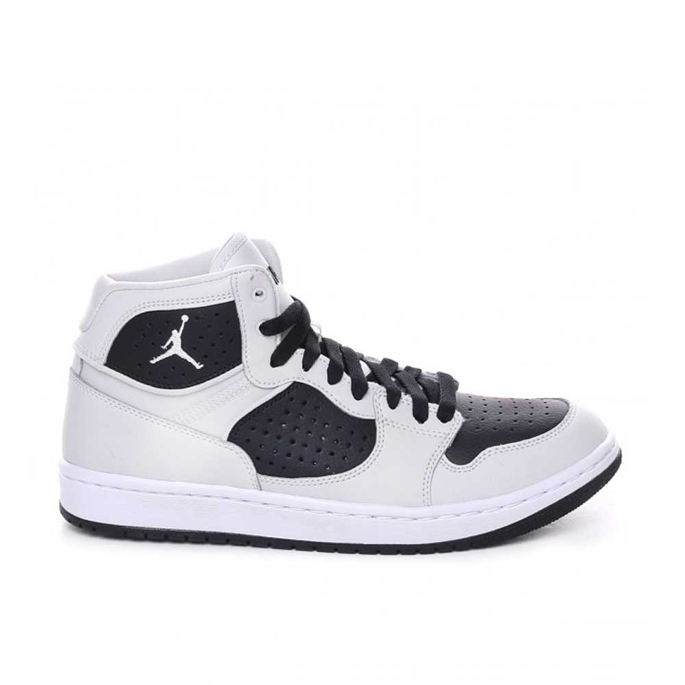 Jordan Access Black White da Uomo
