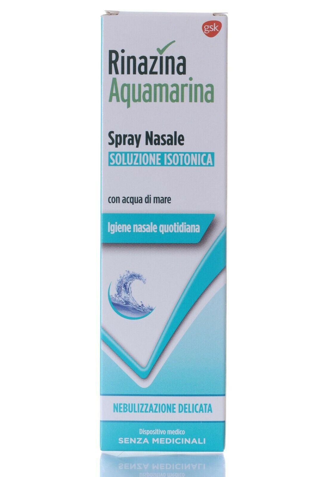 Rinazina Aquamarina Spray Nasale Soluzione Isotonica 100ml