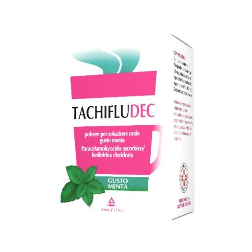 Tachifludec Menta Polvere per Soluzione Orale 10 Bustine