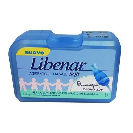 Libenar Aspiratore Nasale per Neonati Confezione da 1 pezzo con 20 filtri
