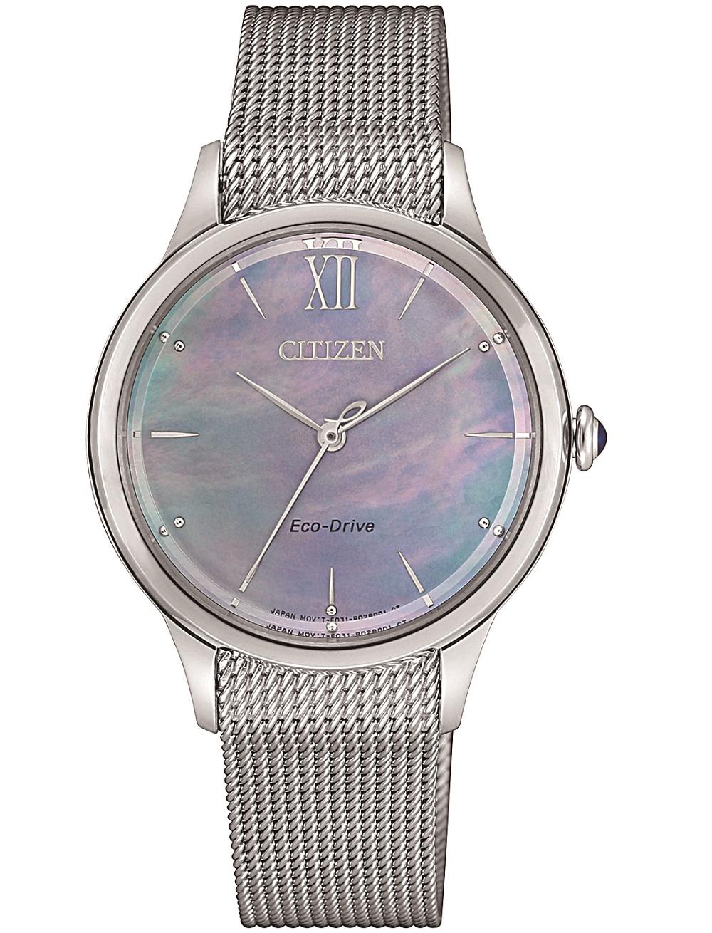 Citizen Lady L collection, maglia milano acciaio