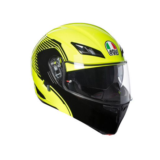Casco AGV Compact ST Vermont Yellow-Fluo/Black
