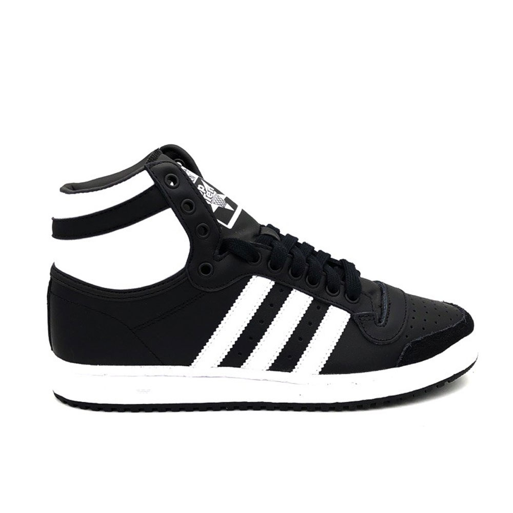 Adidas Top 10 HI Black White da Uomo