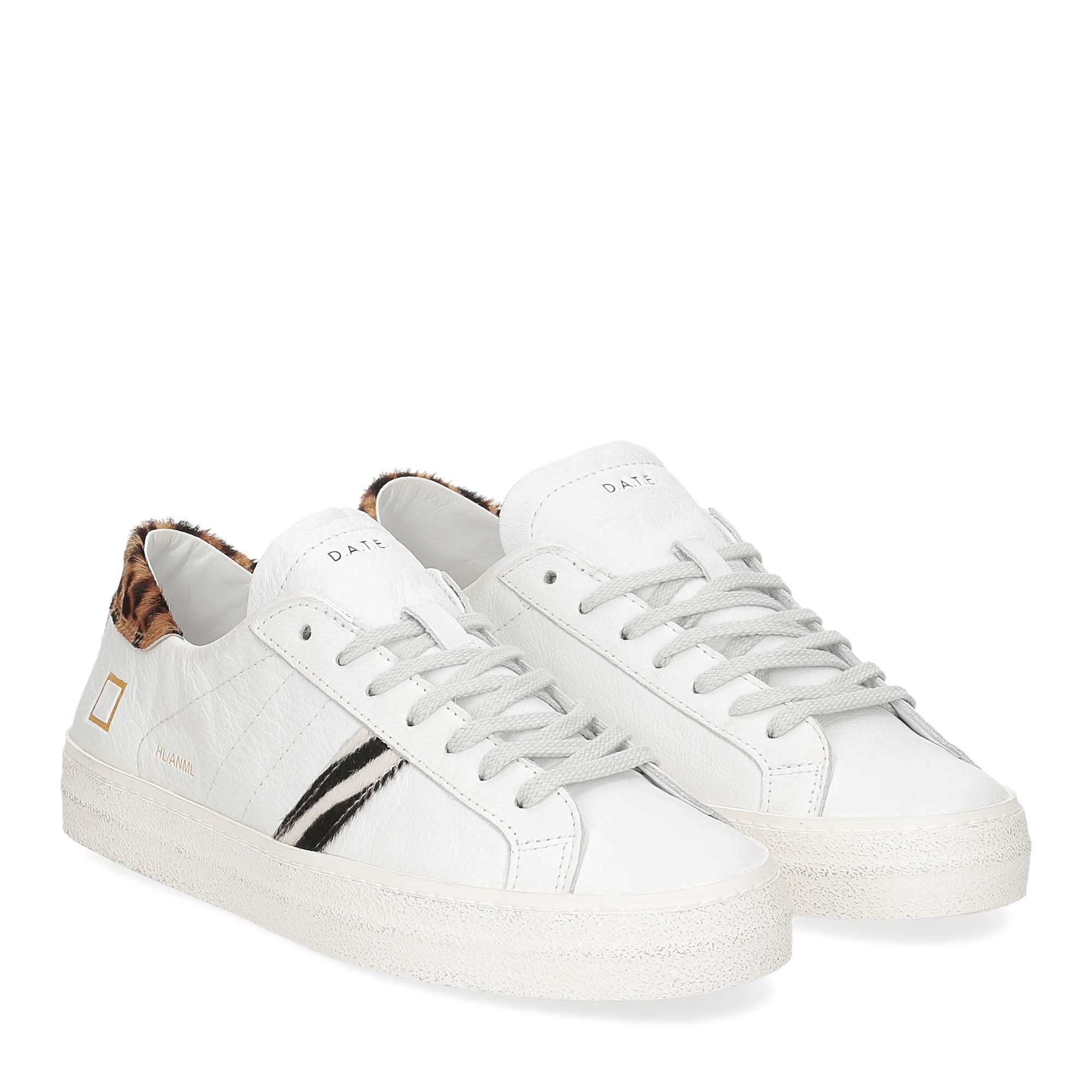 D.A.T.E. Hill Low animalier white