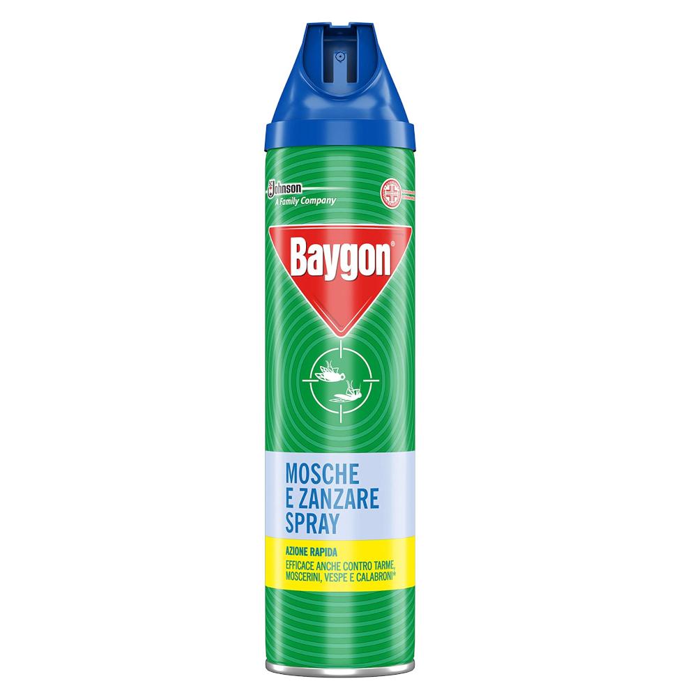 BAYGON Mosche e Zanzare Spray 400ml