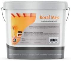 Kristal Koral Maya 14lt idropittura  traspirante bianca per interni