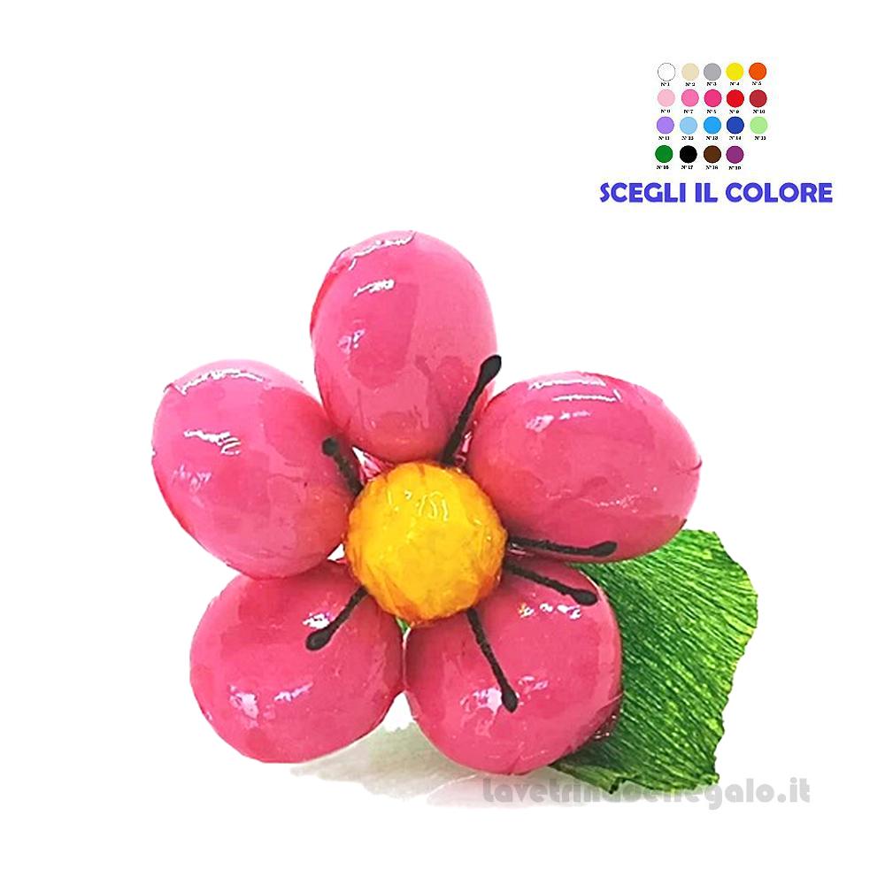 Anemone mignon rosa Fiore di Confetti William Di Carlo Sulmona - Italy