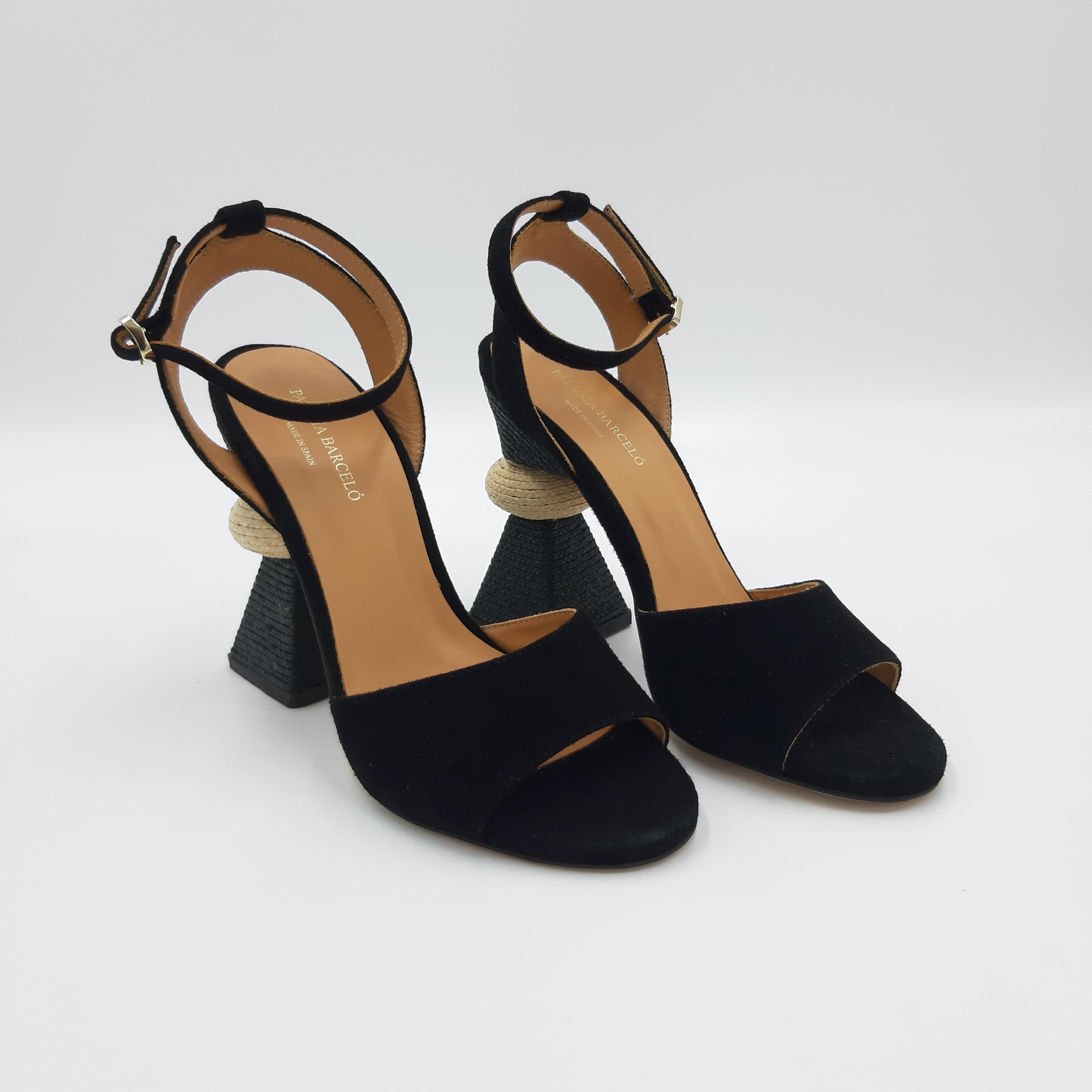 Sandalo tacco scultura Paloma Barcelò