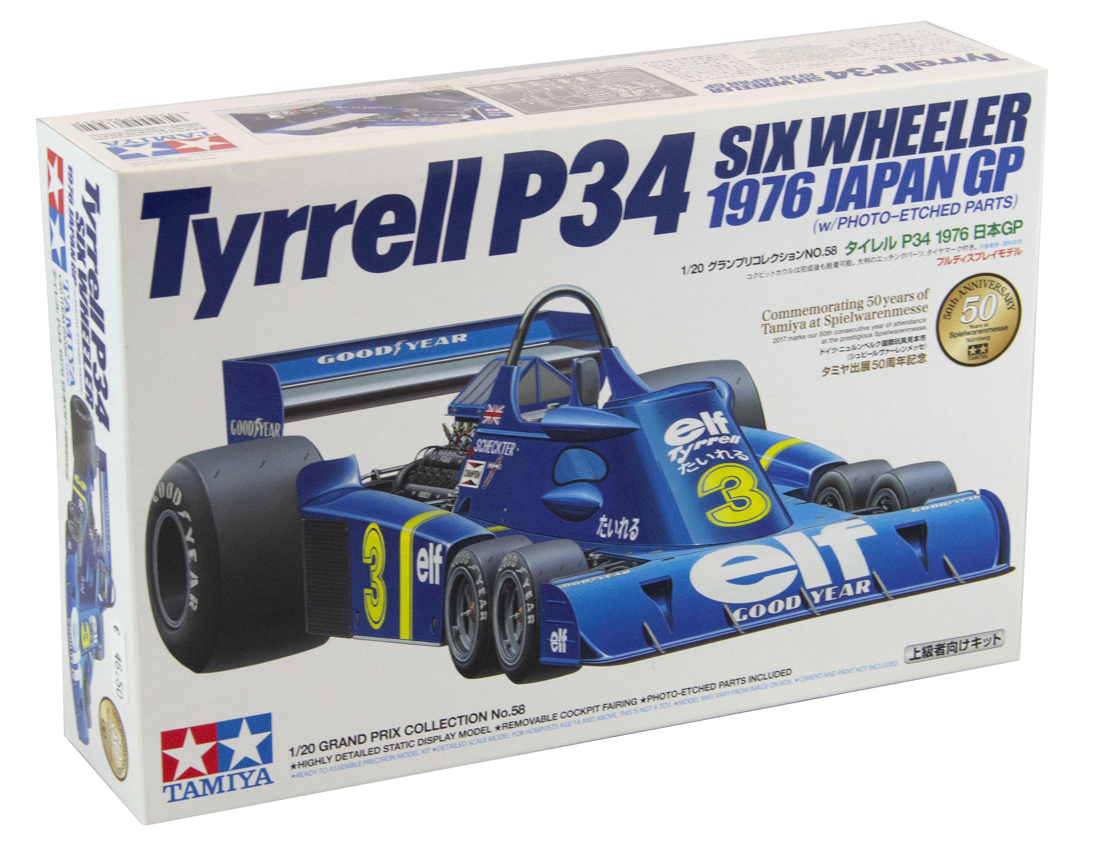 Tyrrel P34 Six Wheeler 1976 Japan GP