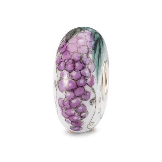 Beads Trollbeads, Uva - Porcellana