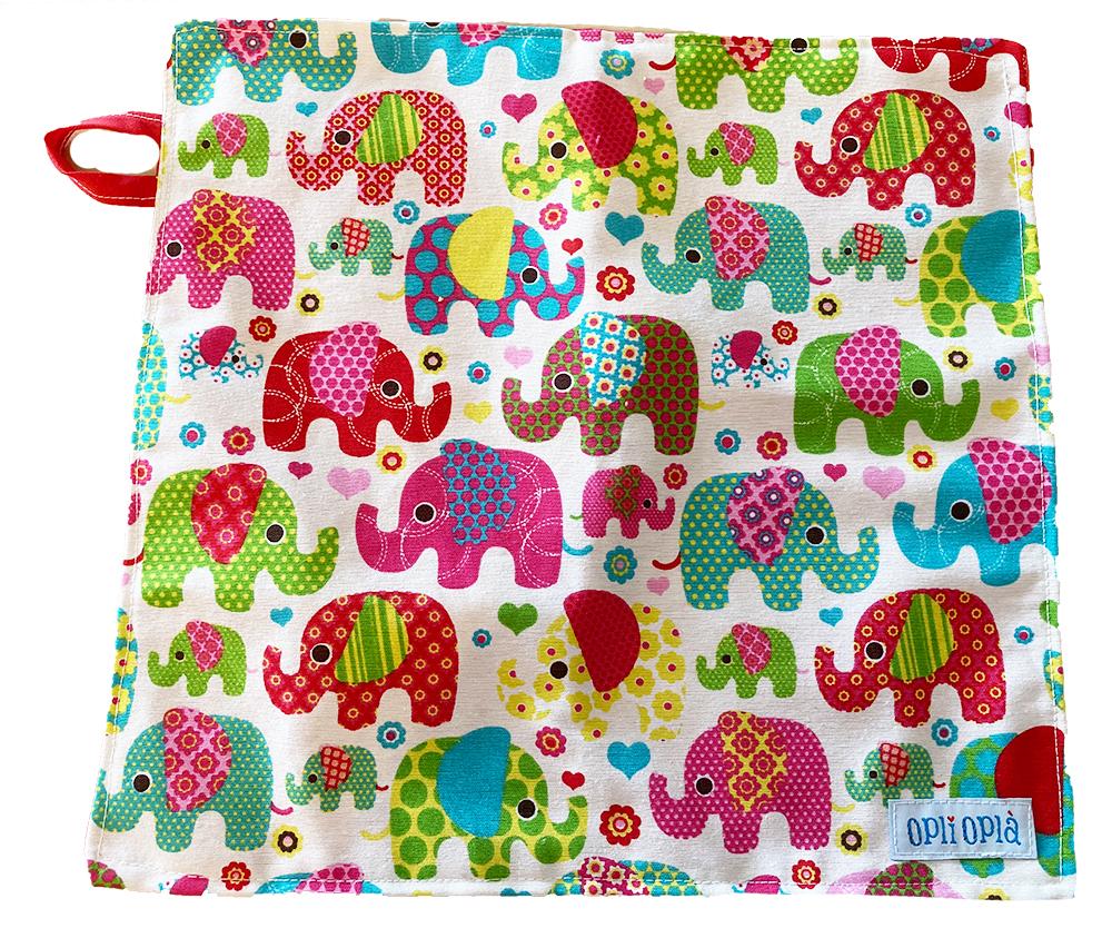Elefanti - tovagliolo per la scuola