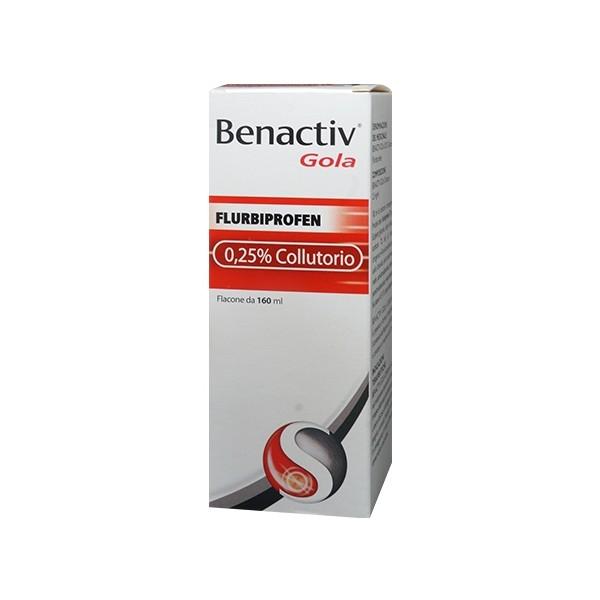 Benactiv Gola 25 mg/ml Collutorio - 160 ml