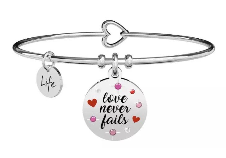 Kidult Bracciale Love, love never fails