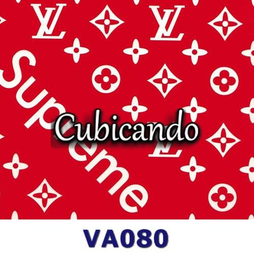 Pellicola per cubicatura  effetto Louis Vuitton - Supreme