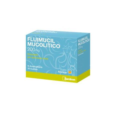 Fluimucil Mucolitico 200 mg - 30 Bustine