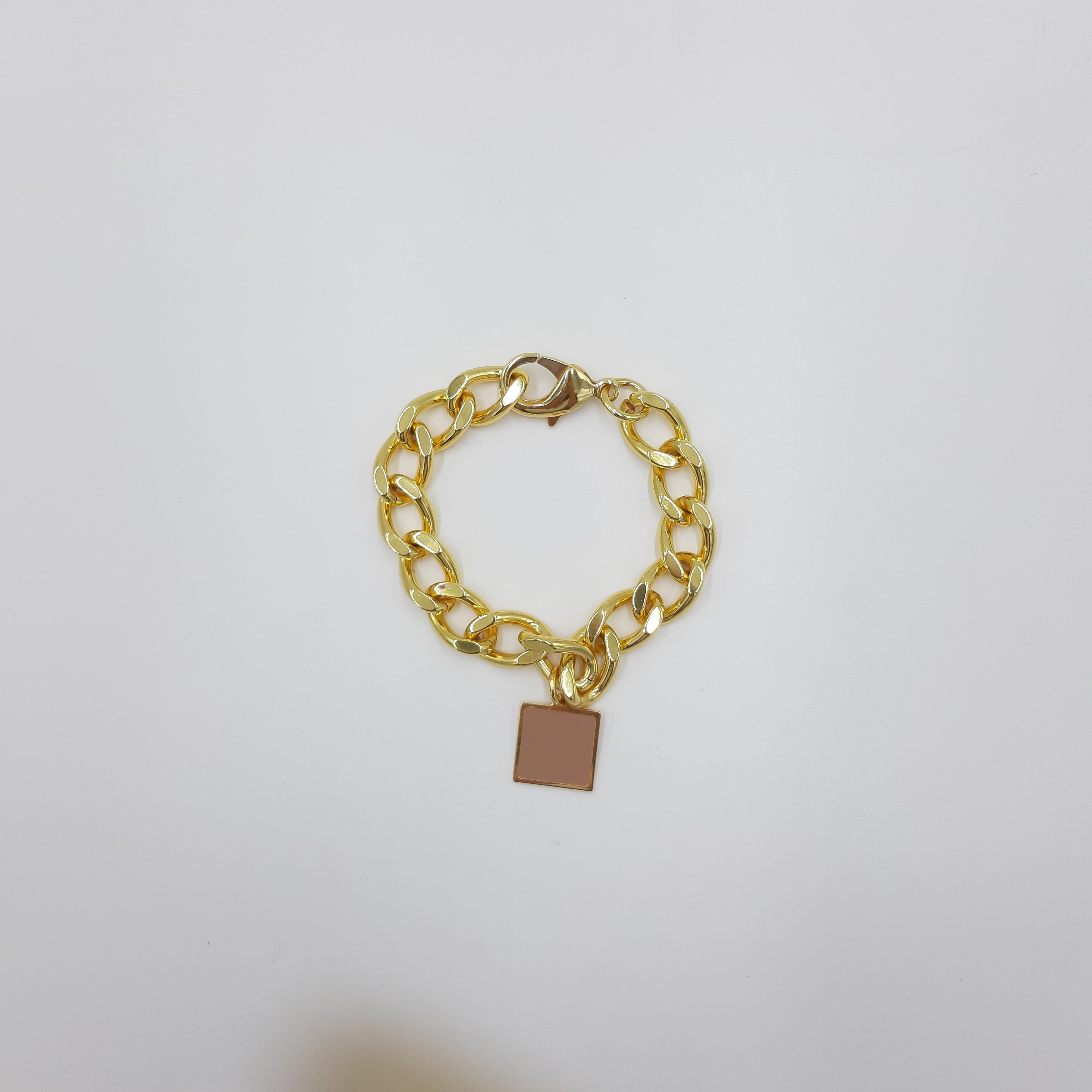 Bracciale oro con pendente nude Francesca Bianchi Design