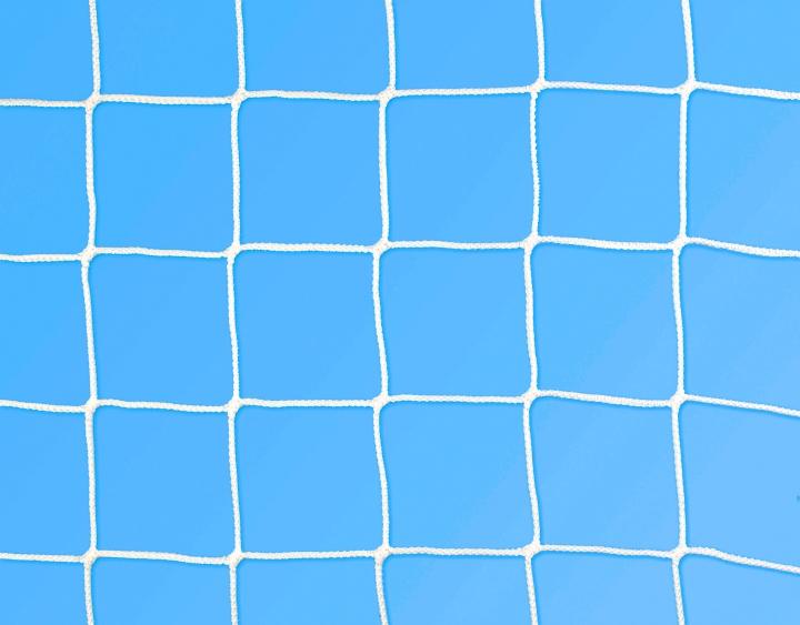 Rete calcio ridotta 4x2 m Ø 3 mm maglia 130 mm