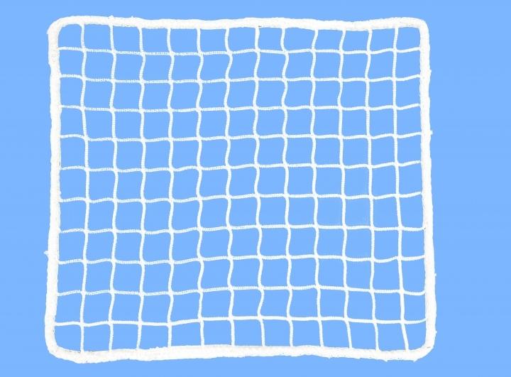 Fencing net, mesh 48mm