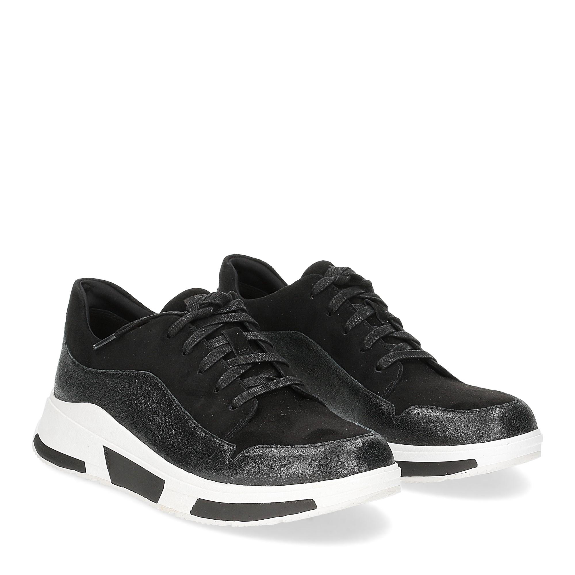 Fitflop Freya suede sneakers black