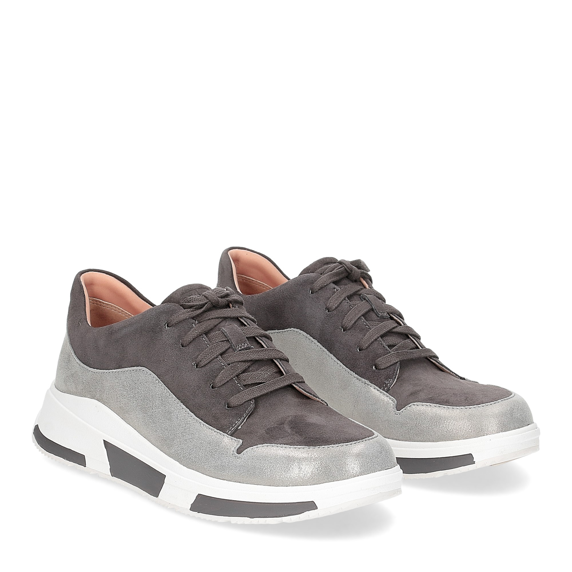 Fitflop Freya suede sneakers grey