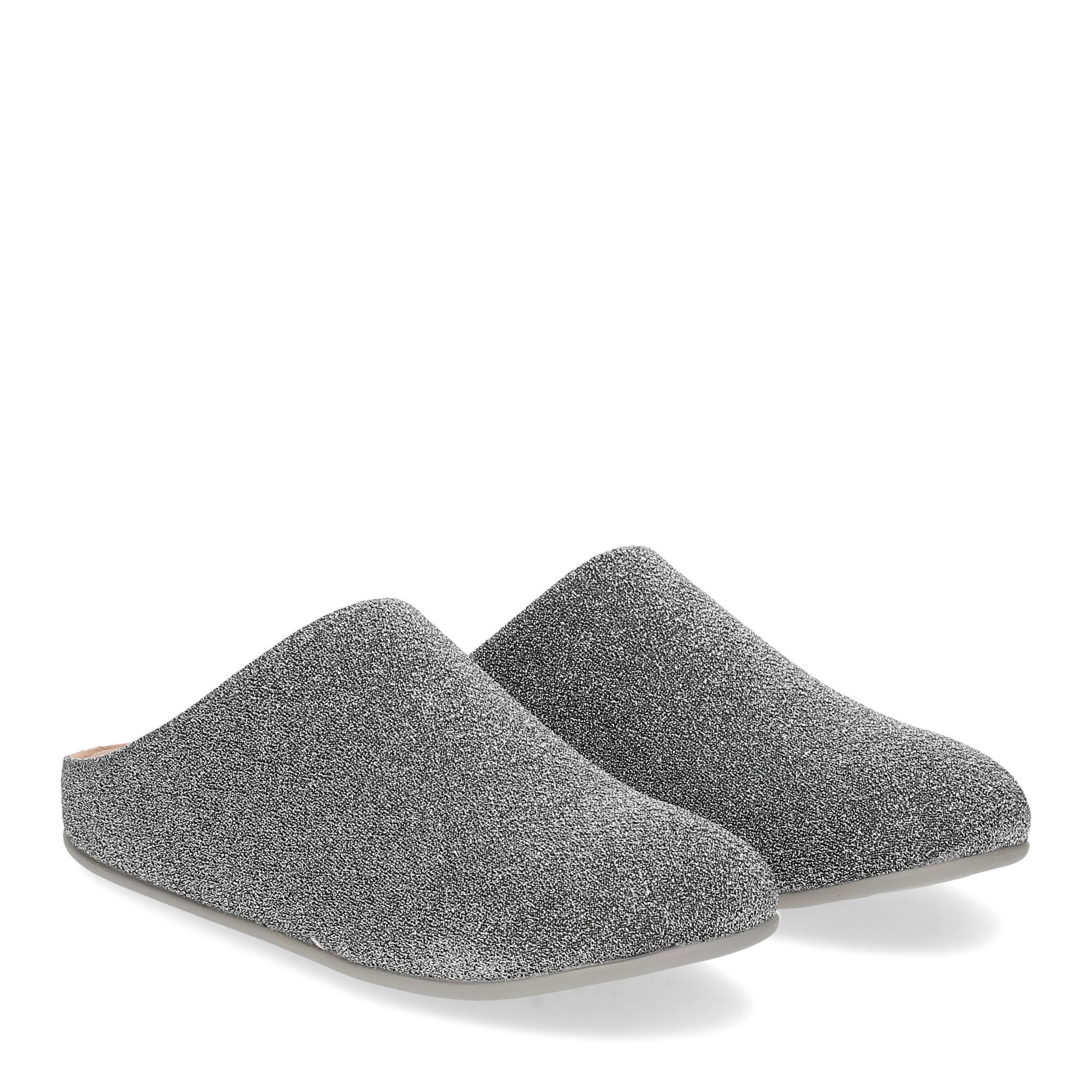 Fitflop Chrissie glitzy slippers pewter