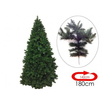 General Trade Albero di Natale Cm 180 Abete 28 × 37 × 104 con Rami Verde