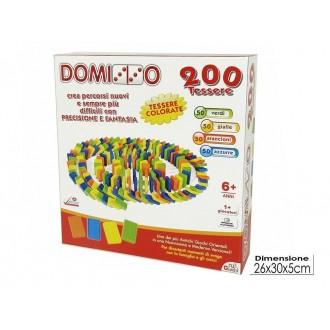 General Trade Gioco Domino 200 Tessere Gioco da Tavolo Colorato