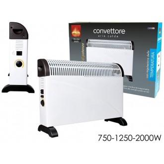 Termoconvettore con Termostato Color Bianco 2000W