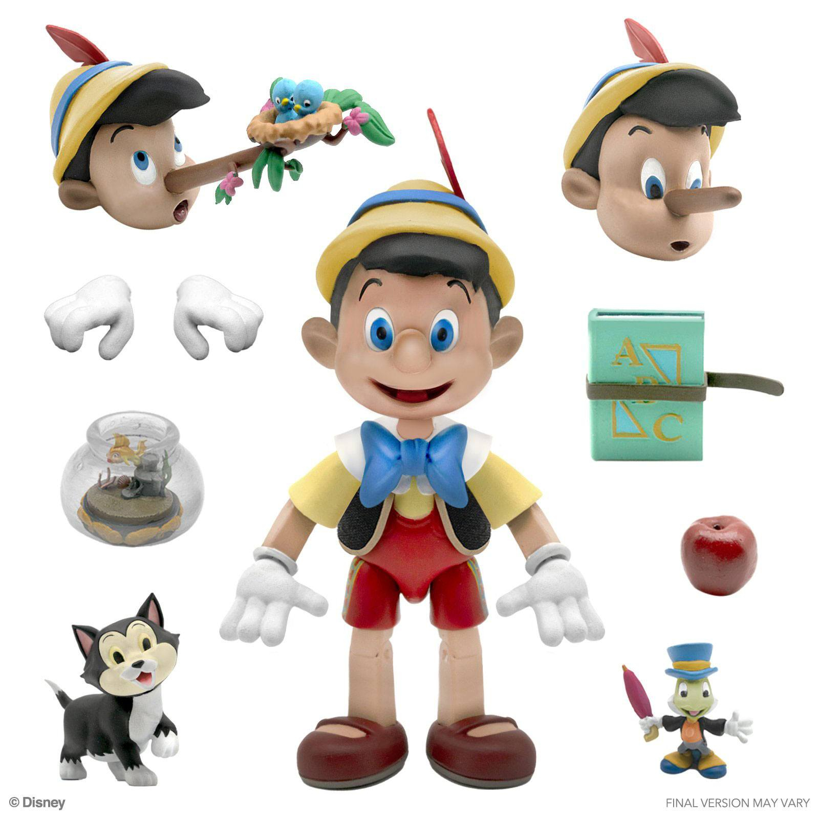 *PREORDER* Action Figure Disney Ultimates : PINOCCHIO by Super 7