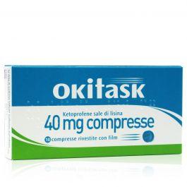 Okitask 10 compresse da 40mg-ketoprofene sale di lisinache