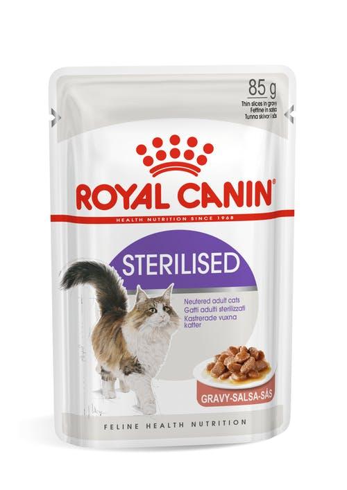 ROYAL CANIN CAT STERILISED BUSTE GRAVY/BOCCONCINI IN SALSA 85gr