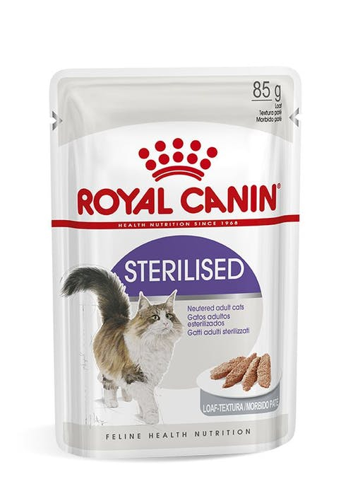 ROYAL CANIN CAT STERILISED BUSTE LOAF/PATE' 85gr