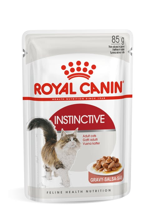 ROYAL CANIN CAT INSTINCTIVE BUSTE GRAVY/BOCCONCINI IN SALSA 85gr