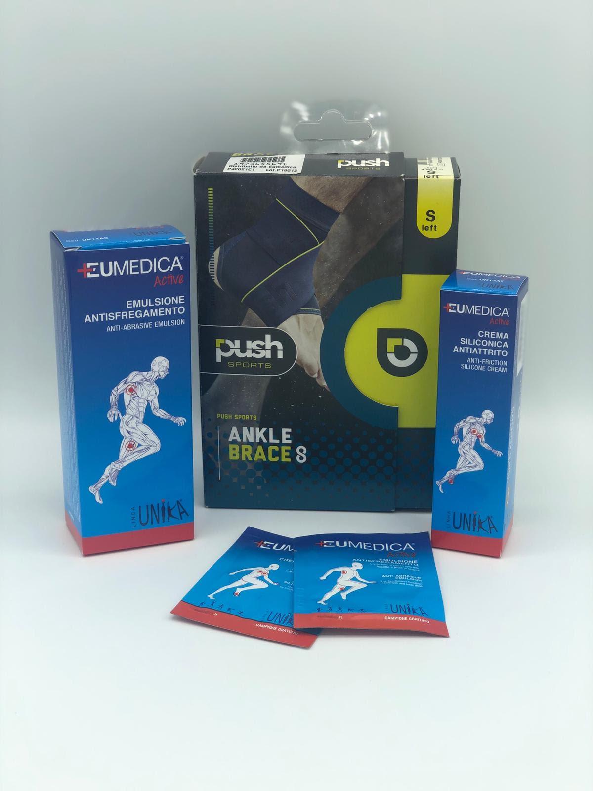 Promo Cavigliera Push Sports 8 +Crema Unika