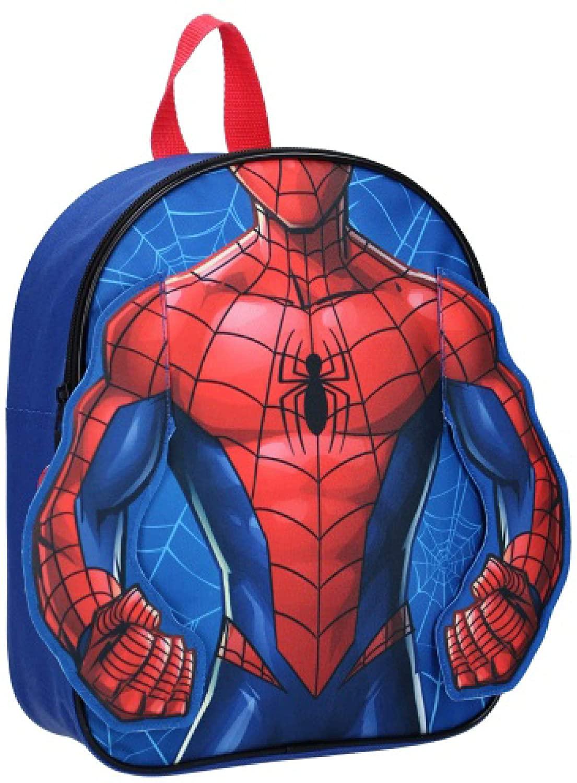 Zaino Spiderman Asilo dim. 25x31x5 cm Spallacci Imbottiti
