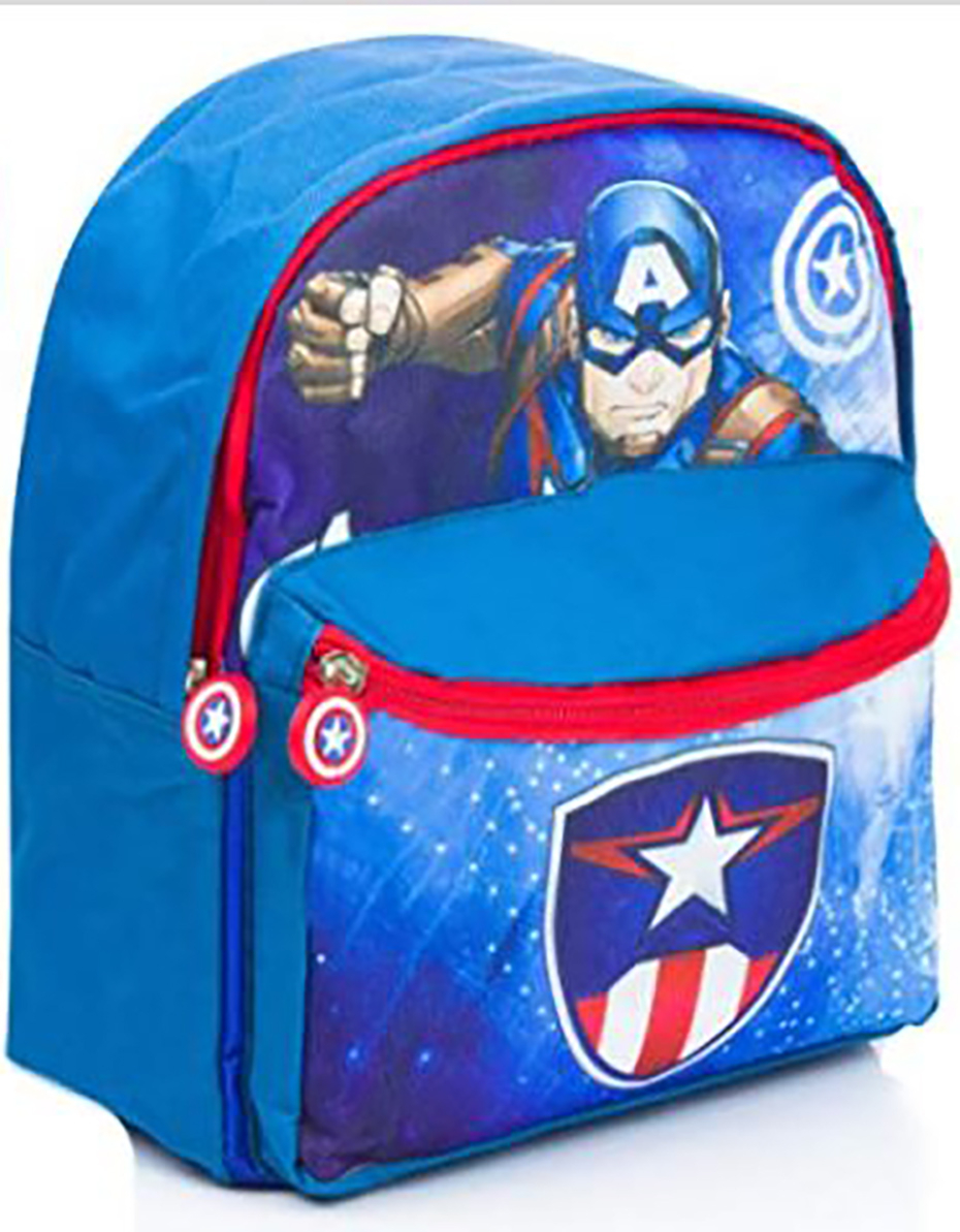 Zaino Capitan America dim. 31X27X10 cm
