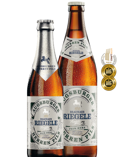 Birra Riegele Augsburger Heren Pils CL. 50
