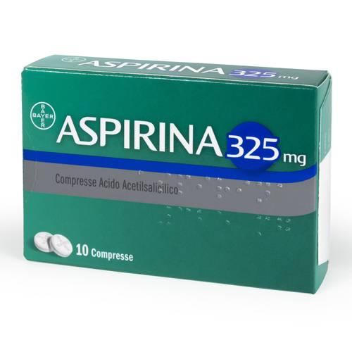 Aspirina 325 mg - 10 compresse