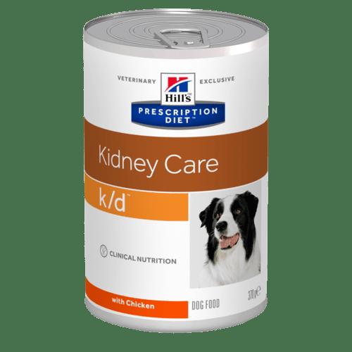 Hill's - Prescription Diet Canine - k/d - 370g x 12 lattine