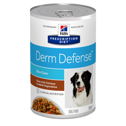 Hill's - Prescription Diet Canine - Derm Defense Stew - 354g x 12 lattine