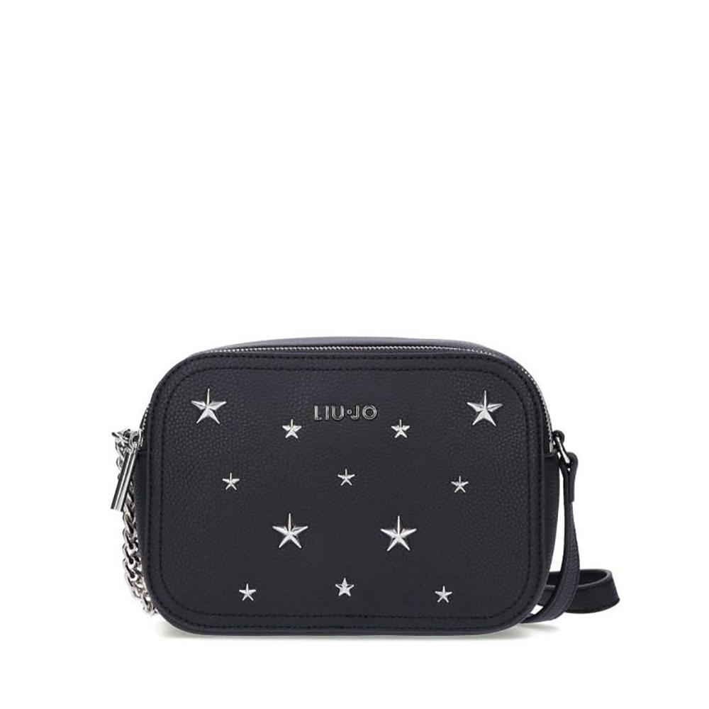 Tracolla borchie stelle nera - LIU JO