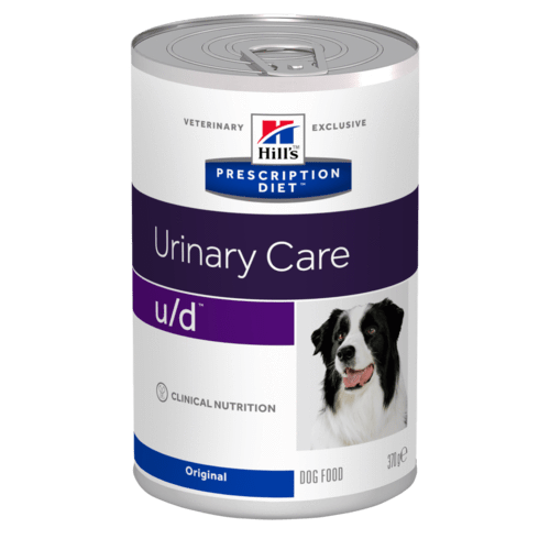 Hill's - Prescription Diet Canine - u/d - 370g x 12 lattine