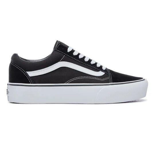 Vans Old Skool GIRL Platform Black White