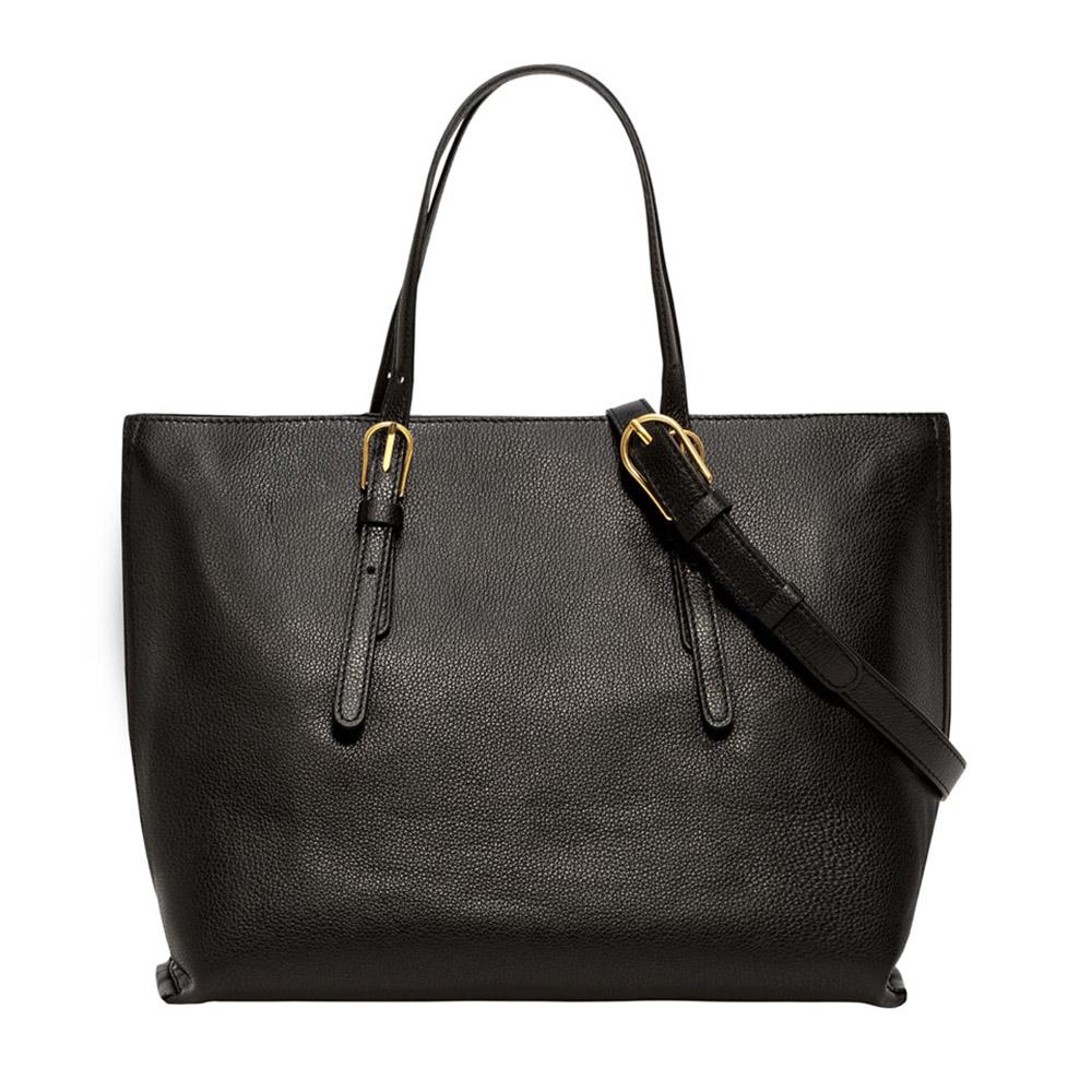 Shopping bag Patricia nera - GIANNI CHIARINI