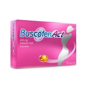 BuscofenAct 400 mg - 12 Capsule Molli